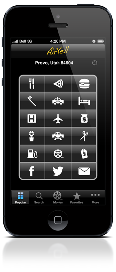 AirYell for iPhone and iPod Touch